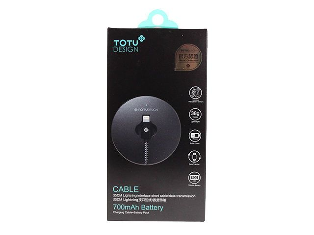 Портативное ЗУ lightning Totu QJET Series lightning 700mah